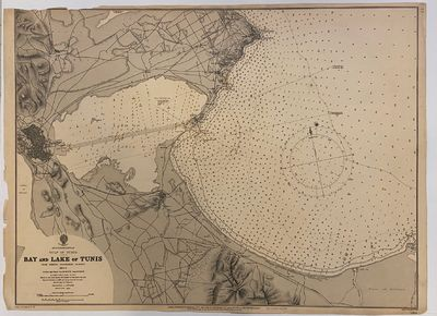 London: J.D. Potter, 1893. unbound. very good. Sea chart. Engraving with hand coloring. Image measur...