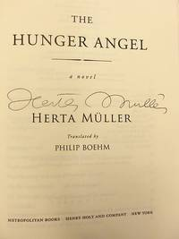 The Hunger Angel: A Novel (SIGNED)