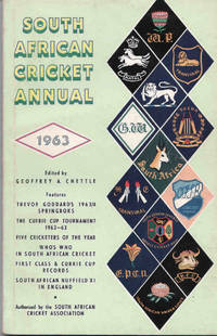 South African Cricket Annual 1963 (Volume 10)