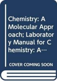 image of Chemistry: A Molecular Approach; Laboratory Manual for Chemistry: A Molecular Approach; MasteringChemistry with Pearson eText -- ValuePack Access Card ... Chemistry: A Molecular Approach (3rd Edition)