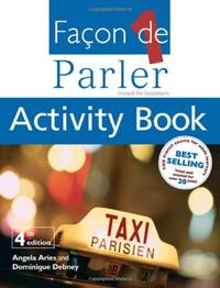 Facon De Parler 1 Activity Book: French for Beginners