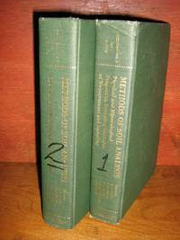 Methods Of Soil Analysis, 2 (Two) Volumes