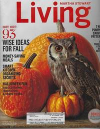 MARTHA STEWART LIVING MAGAZINE OCTOBER 2014