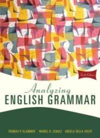 Analyzing English Grammar 6th Edition