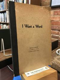 I WANT A WORD: A Word Manual and Exercise Book.
