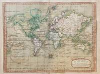 [WORLD MAP]. A New Chart of the World on Mercator's Projection with The Tracks & Discoveries of the Latest Circumnavigators &c