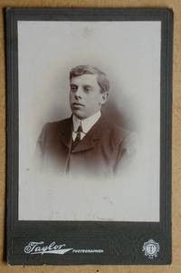 Cabinet Photograph: Portrait of a Young Man.