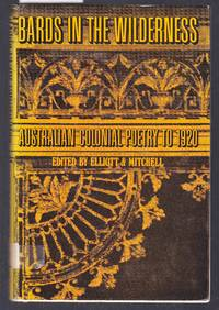 image of Bards in the Wilderness - Australian Colonial Poetry to 1920