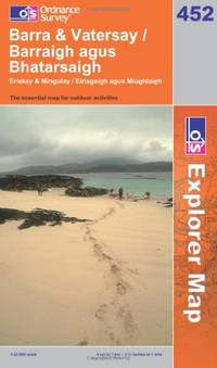 image of Barra and Vatersay / Barraigh Agus Bhatarsaigh (OS Explorer Map Series) (OS Explorer Map Active)