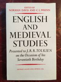 English and Medieval studies presented to J.R.R. Tolkien on the occasion of his seventieth birthday