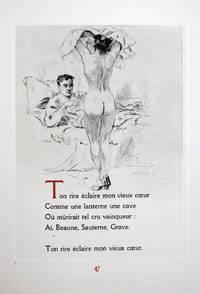 Chansons Pour Elle. Pointes-sèches Du Peintre-graveur Lobel-Riche. By  Alméry (ill.)  Paul - Lobel-Riche - Used Books - Paperback - 1945 - from Des livres autour (Julien Mannoni) and Biblio.com
