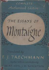 image of The Essays of Montaigne _ Vol 1