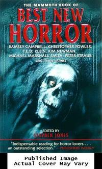 image of The Mammoth Book of Best New Horror 11