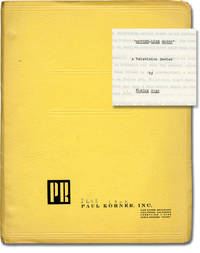 Mother-lode Robby (Original screenplay for an unproduced television series)