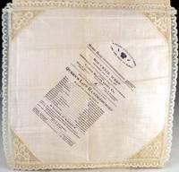"""Souvenir program for """"Queen's Lace Handkerchief"""