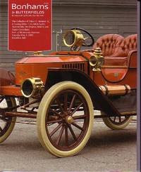 image of Bonhams & Butterfields Auction Catalog - The Collection of Edwin C. Jameson Jr., Including Motor Cars, Motorcycles, Automobilia, Fire Engines, Marine and Steam Collectibles - May 3, 2003