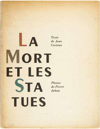 Paris: Les Editions du Compas, 1946. Binding a little split at the spine ends with loss at the head ...