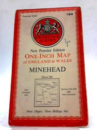 image of Ordnance Survey New Popular Edition One-Inch Map of England and Wales : Minehead Sheet 164 Paper