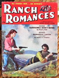 image of Gunhawks Don't Retire. Short Story in Ranch Romances Volume 194 Number 3,October 21, 1955.