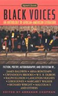 Black Voices : An Anthology of African-American Literature