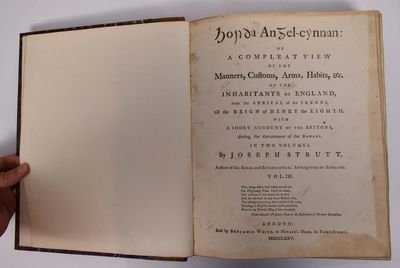London: Sold by Benjamin White, at Horace's Head, in Fleet-Street, 1775. 1st edition. Hardcover. VG....