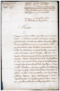 Tableau des infirmités qui nécessitent la réforme. Manuscript