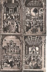 image of Collection/Lot of 11 Vintage Monochrome Postcards (Ca 1910s) Depicting the Painted Ceilings of Siena Cathedral, Italy. UNUSED VF