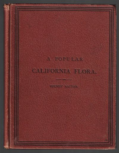 San Francisco: A.L. Bancroft, 1879. First Edition. Hardcover. Very good. 106 pp, in publisher's dark...