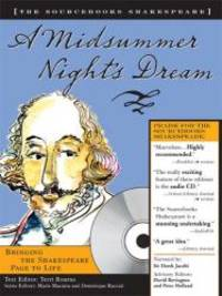 image of A Midsummer Night's Dream (Sourcebooks  Shakespeare; Book & CD)