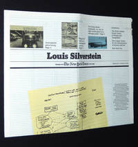 Louis Silverstein: Exhibition Catalogue, February 17 - March 17, 1988 by  Louis; Robert Frank Silverstein - 1988 - from A&D Books and Biblio.co.uk