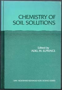 Chemistry of Soil Solutions