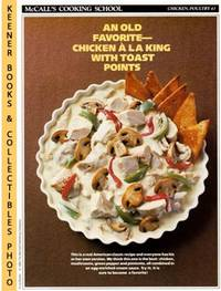 McCall's Cooking School Recipe Card: Chicken, Poultry 43 - Chicken A La  King (Replacement...