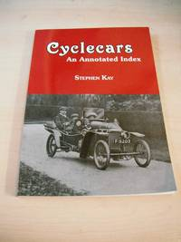 image of Cyclecars: An Annotated Index