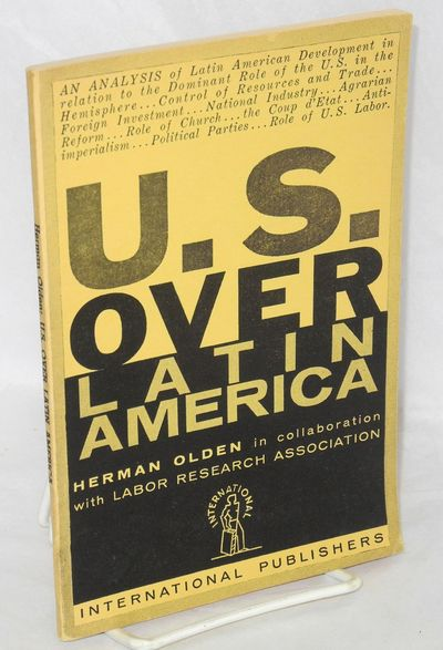 New York: International Publishers, 1955. Paperback. 64p., linedrawn map, wraps, mildest signs of an...