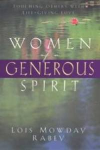 Women of a Generous Spirit