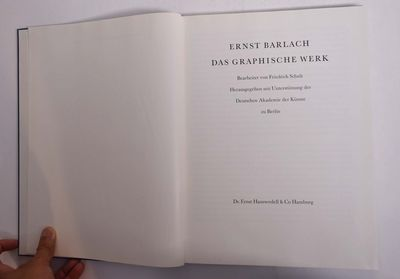 Hamburg: Hauswedell, 1997. Hardcover. VG+, ex art library copy appears unused. Blue library cloth wi...