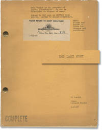 image of The Last Hunt (Original screenplay for the 1956 film)
