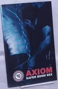 image of Axiom: safer BDSM sex [brochure]