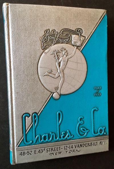 New York: Charles & Co, 1937. Decorative Cloth. Near Fine. Very impressive, Art-Decoish 1937 catalog...