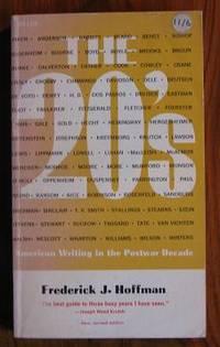 The Twenties: American Writing in the Postwar Decade.