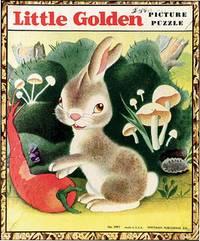 LIVELY LITTLE RABBIT: LITTLE GOLDEN PICTURE PUZZLE