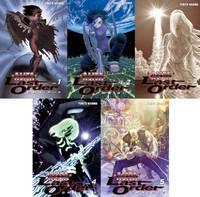 image of BATTLE ANGEL ALITA: LAST ORDER Graphic Novel OMNIBUS Collection Set Volumes 1-5