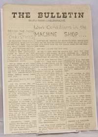 The Bulletin: No. 12 (Dec. 21, 1971)