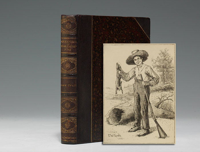 an analysis of the adventures of huckleberry finn a book by mark twain Free essay: the adventures of huckleberry finn, a novel written by mark twain, is an important literary work because of it's use of satire it is a story.