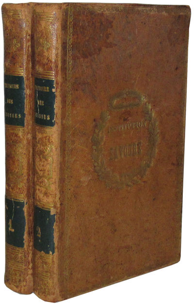 Paris: Parent-Desbarres, 1841 Two volumes. First edition. Finely bound in tan calf, boards decorativ...