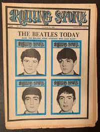 """Rolling Stone (Issue #20, October 26th, 1968 -- """"The Beatles Today"""" Cover)"""