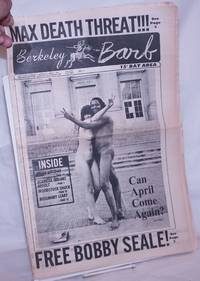 image of Berkeley Barb: vol. 10, #12 (#241) March 27-April 2, 1970: Max Death Threat_Free Bobby Seale