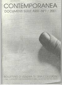 Documenti sulle arti - No 1 / 2001. Bollettino di vendita di una Collezione, Libri, Cataloghi et Documenti sull'arte del Novecento