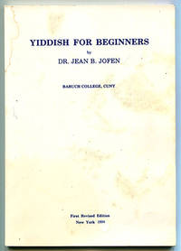 Yiddish For Beginners