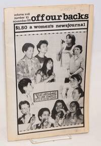 image of Off Our Backs: a women's news journal; vol. 18, #10 November 1988; Third International Feminist Book Fair